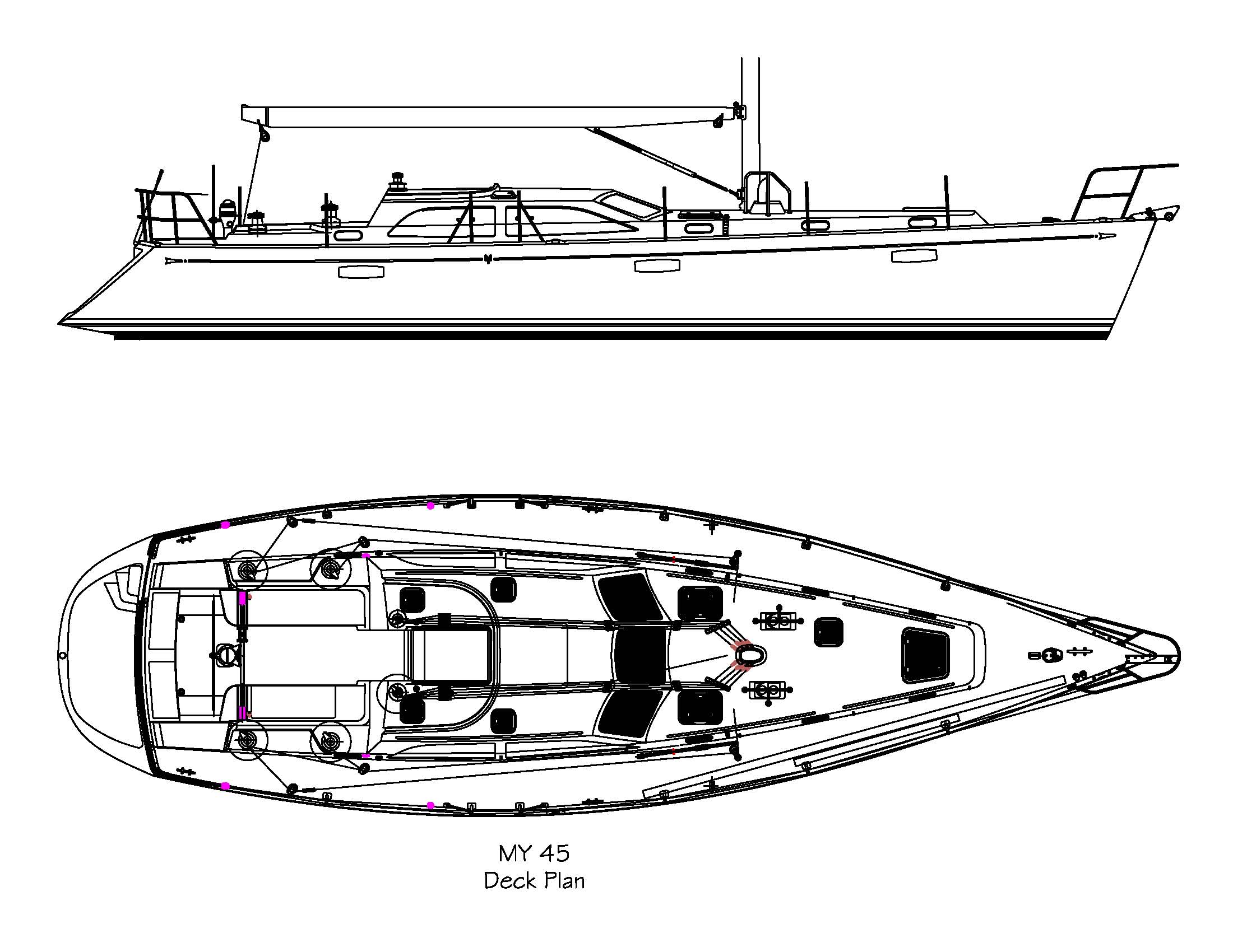 Morris Yachts OS45RS - 45-Deck-plan-and-OB-profile.jpg